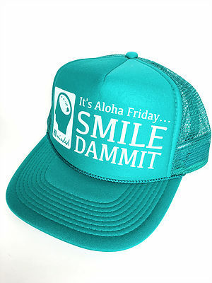 Ball Caps & Snapbacks - Hi Minded It's Aloha Friday Trucker Hat