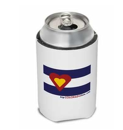 More - Big Colorado Love Koozie: Big Colorado Love
