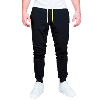 Palapapa Jogging Slim Fit Technical Flex Palapapa Negro / Amarillo