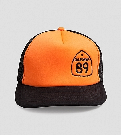 Ball Caps & Snapbacks - California 89 Trucker Hat Side Shield