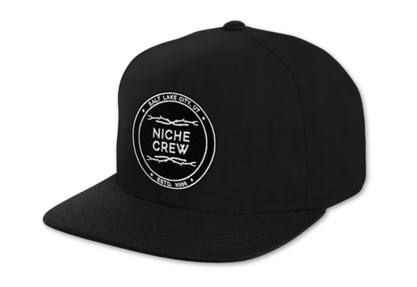 Ball Caps & Snapbacks - Niche Snowboards Patch Snap Back Hat
