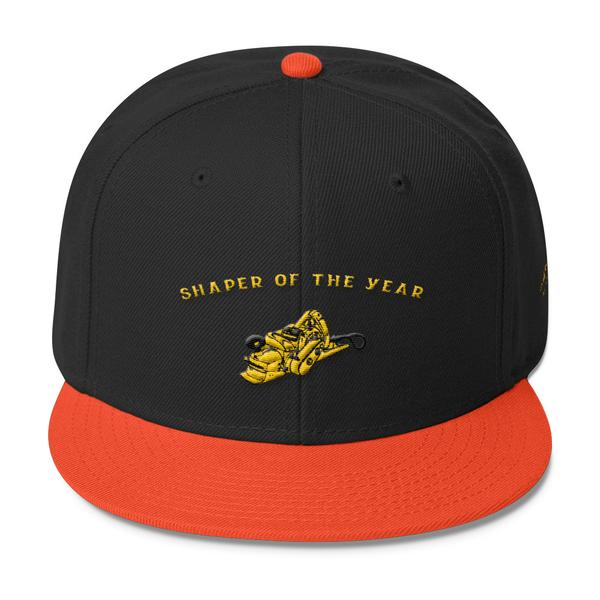 Boards - Wave Tribe Wave Tribe Shaper Of The Year Wool Blend Snapback