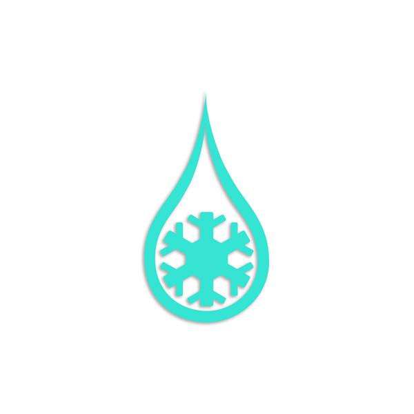 More - Kind Design Snowdrop Decal