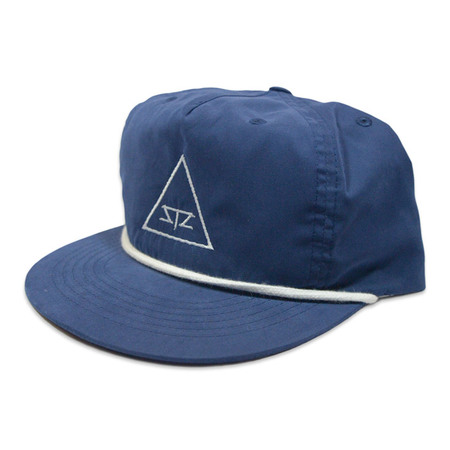 Ball Caps & Snapbacks - STZ Navy Poly Snapback