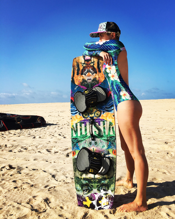Enteros - Wildass Surf Suit Pia Palmeras