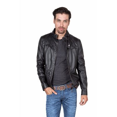 Camperas - Kout Campera Pu Leather Lotus