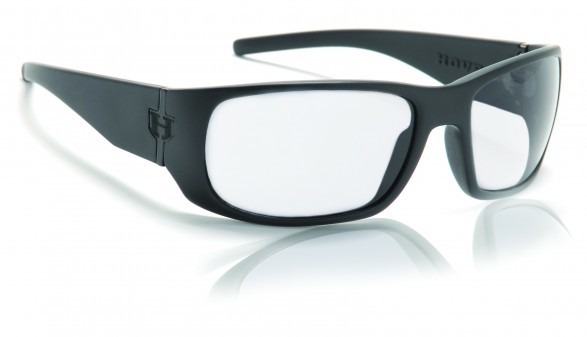 Sunglasses - Hoven Vision MATCH Black on Black / Clear