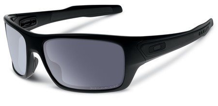 Anteojos - Oakley Anteojos Turbine Matte Black w/ Grey Polarized