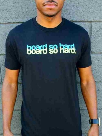 Tees - Flipside Fresh BOARD SO HARD (MEN)