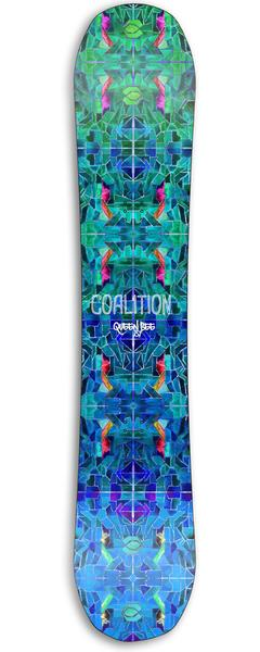 All Mountain - Coalition Snow Queen Bee Snowboard | Kaleidoscope