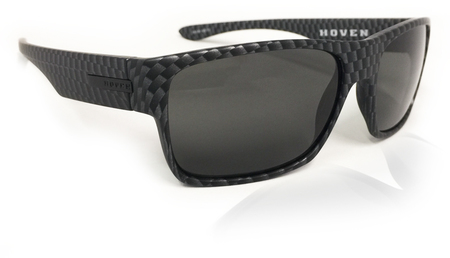 Sunglasses - Hoven Vision FUTURE Carbon Fiber Matte / Grey Polarized