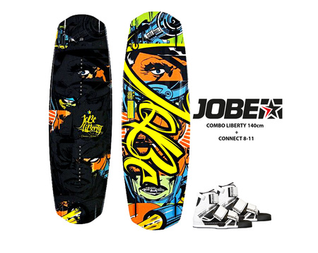Completos - Jobe Combo Tabla Liberty 140cm + botas Connect 8-11