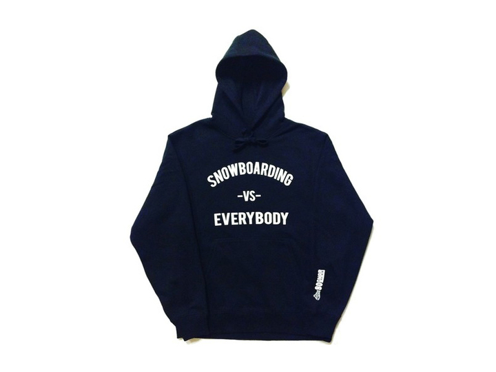 Hoodies - So-Gnar Snowboarding -Vs- Everybody Hoodie