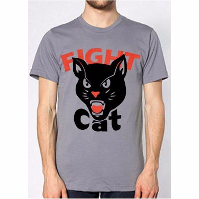 Mangas Cortas - Fight For Your Right  Remera Cat Gris