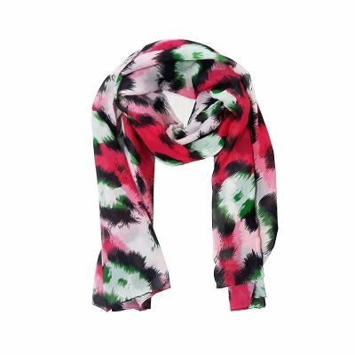 Pashminas - Fight For Your Right Pashmina Leopardo Red