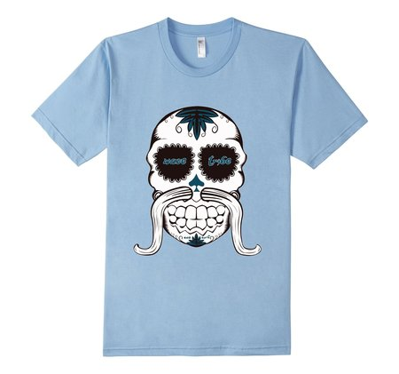 Tees - Wave Tribe Tribal Skull Organic T-Shirt