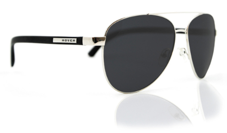 Sunglasses - Hoven Vision DEWEY Black Matte / Grey Polarized
