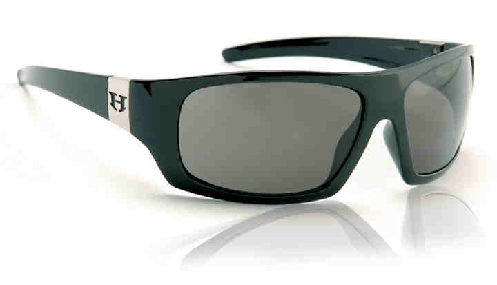 Sunglasses - Hoven Vision EASY Black Gloss/Grey Polarized