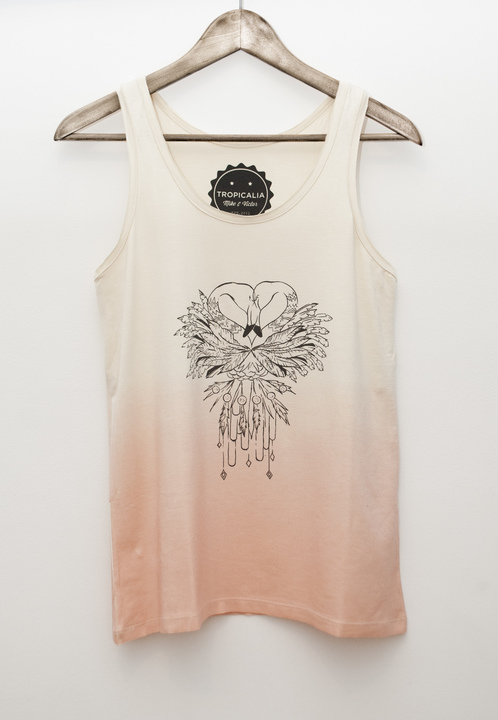 Musculosas - mike & victor Musculosa Flamingos