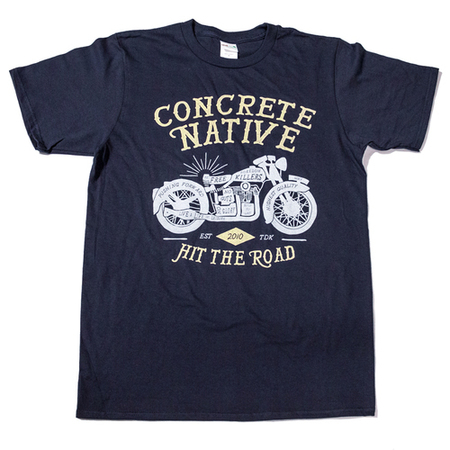 Tees - Concrete Native Easy Rider Tee • Organic