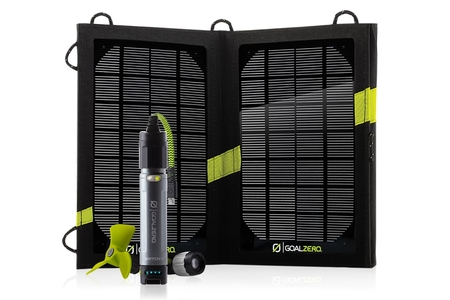 Paneles Solares - Goal Zero Panel Solar Kit Solar Switch 10