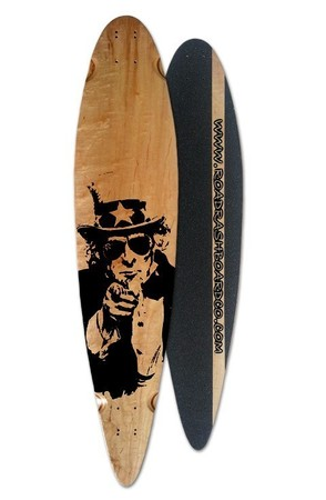 Boards - Roadrash Board Co Classic Pintail - Uncle Sam