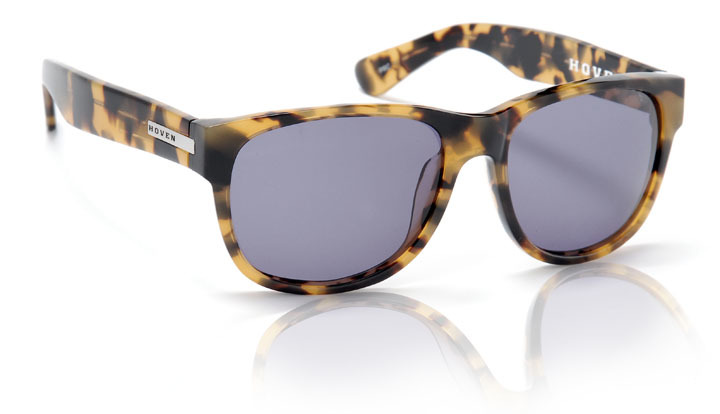 Sunglasses - Hoven Vision BIG RISKY - Animal Tort/Grey Polarized