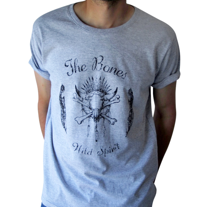 Mangas Cortas - The Bones  Remera Wild Spirit