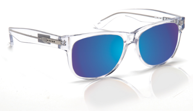 Sunglasses - Hoven Vision BIG RISKY Clear - Polarized