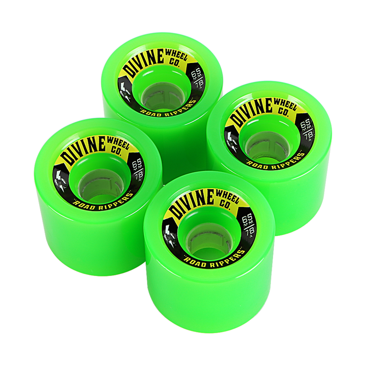 Wheels - Divine Road-Rippers-65mm-Green