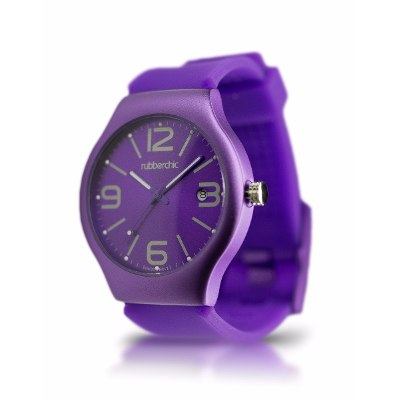 Relojes - Rubberchic Reloj Pulse Deep Purple