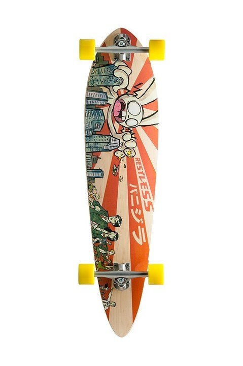 Restless Longboards Magnum Bunnyzilla Deck Longboard - Deck only