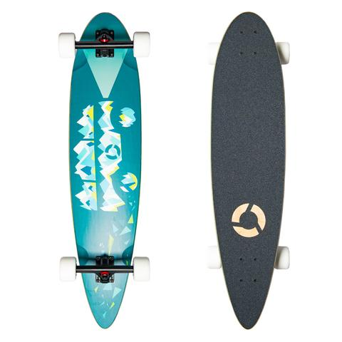 Clothing - Concrete Coast Limited Art Series Longboard: Mountain Van