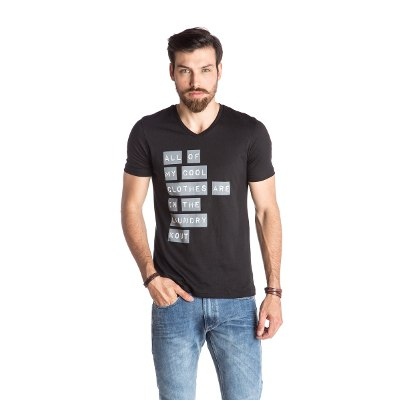 Indumentaria - Kout Remera Laundry- Kout Hombre