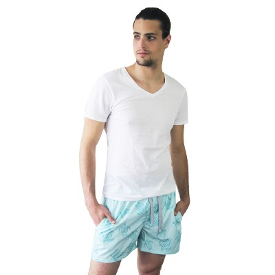 Customs BA Customs Ba Malla Hombre Corta Mallas Short De Baño Polo Rock
