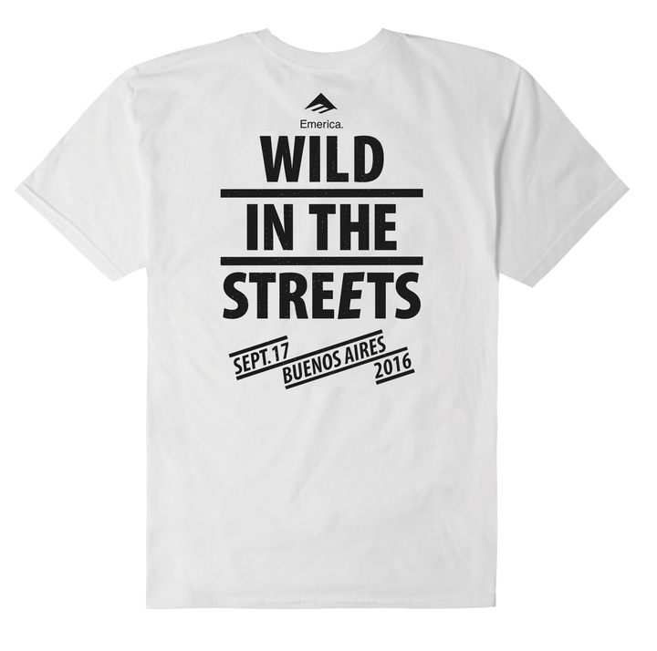 Mangas Cortas - Emerica Remera Emerica Wild In the Streets