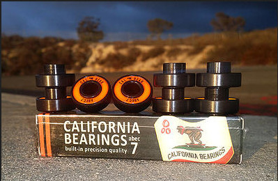 Bearings - Holesom Longboards California Bearings