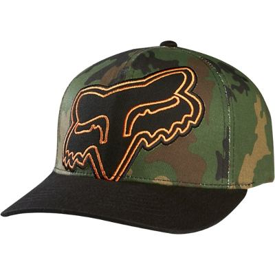 Gorras - Fox Head Gorra Fox Head  Backwind Flexfit -s/m- #09037001