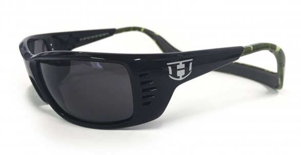 Hoven Vision MEAL TICKET Black-Green Camo / Grey Polarized (Bifocal +2.00)