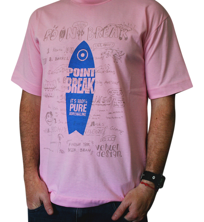Mangas Cortas - Velvetdesign Remera Point Break