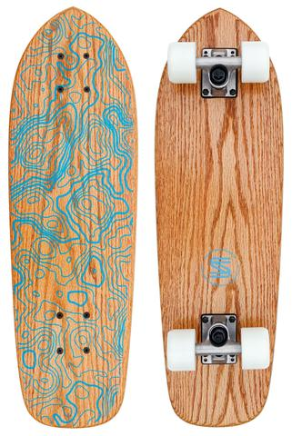 Boards - Salemtown Board Co The Rivers (Oak Cruiser)