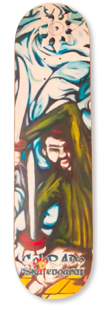 Boards - Colorado Skateboards Two Swords (Samurai Series)