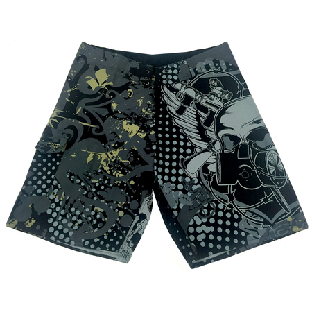 Shorts - No Fear Traje de baño Skull