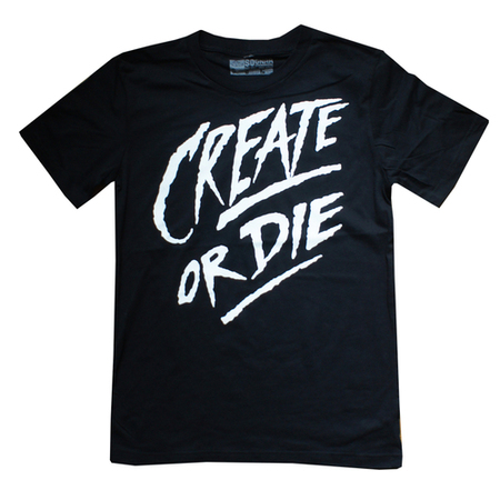 Tees - So-Gnar Create or Die Classic Tee