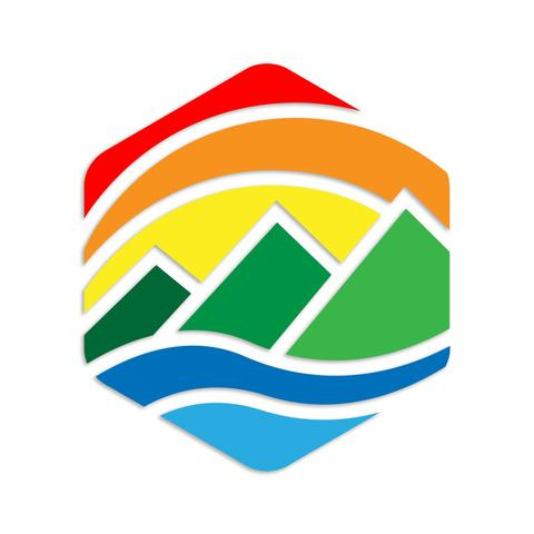 More - Kind Design Retro Mountains Decal
