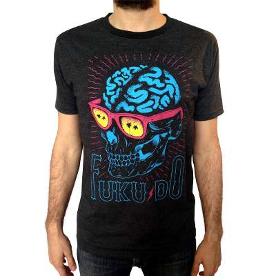 Mangas Cortas - Fuku-Do Remera Cerebro