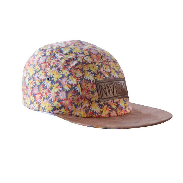 Five Panels - Niveria Gorra Sweet Flowers