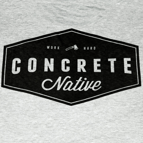 Tees - Concrete Native Wattershed Tee • Organic