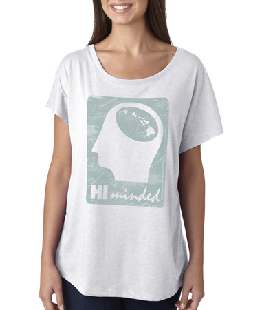 Tees - Hi Minded Ladies Big HI Minded Logo