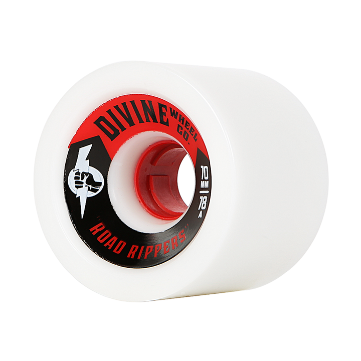 Wheels - Divine Road-Rippers-70mm-White